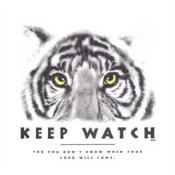 Christelijke T-shirt bedrukking : Keep Watch : Bedrukking Awv