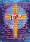 Poster a3 namen van Jezus