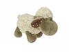 Fluffy sheep curly 20cm